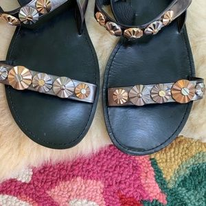 Coach Shoes - Coach Eleanor Semi Matte Calf Sandals